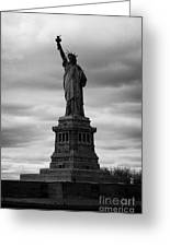 Statue Of Liberty New York City Greeting Card by Joe Fox