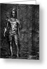 Statue Of Lord Sri Ram Greeting Card