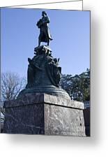 Statue Of Thomas Jefferson Greeting Card