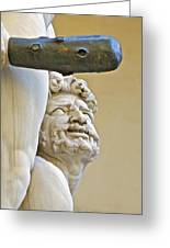 Statues Of Hercules And Cacus Greeting Card