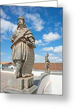 Statues Of Prophets Greeting Card