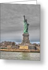 Staute Of Liberty Greeting Card