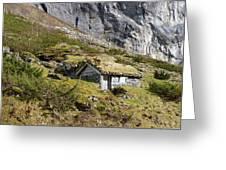 Stavbergsetra - Cowherd Huts Greeting Card