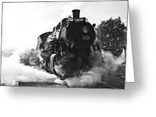 Steam And Iron Greeting Card