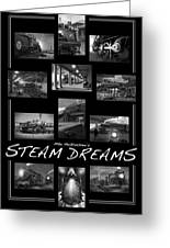 Steam Dreams Greeting Card by Mike McGlothlen