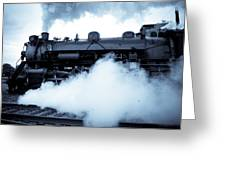 Steam Engine 3254 Greeting Card
