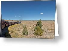 Steam Engine 489 At The Lava Tank On The Cumbres And Toltec Scenic Railroad Greeting Card
