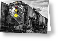 Steam Engine 844 Greeting Card