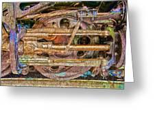 Steam Engine Linkage 2 Greeting Card
