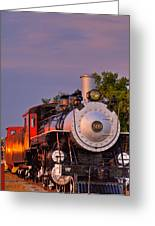 Steam Engine Number 509 Greeting Card
