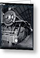 Steam Engine The Gold Coast Greeting Card