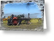 Steam Farming Greeting Card