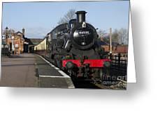 Steam Loco 46521 Greeting Card