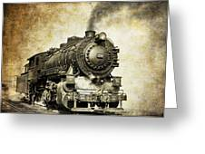 Steam Locomotive No. 334 Greeting Card