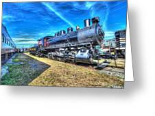Steam Locomotive No 4 Virginian Class Sa  Greeting Card
