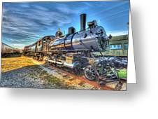 Steam Locomotive No 6 Norfolk And Western Class G-1 Greeting Card