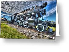 Steam Locomotive No 606 Greeting Card