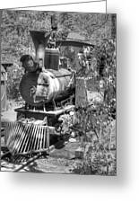 Steam Locomotive Old West V3 Greeting Card