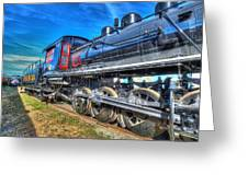 Steam Locomotive Virginian Class Sa No 4 Greeting Card