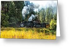 Steam Train 2 Greeting Card