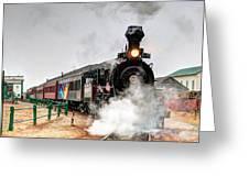 Steam Train 45 Greeting Card