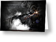 Steam Train Greeting Card