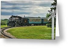 Steam Train Tr3627-13 Greeting Card