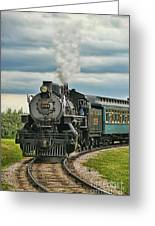 Steam Trains Tr3629-13 Greeting Card