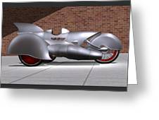 Steam Turbine Trike  Greeting Card