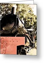 Steamer Greeting Card