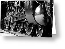 Steamer Up 844 Wheels Greeting Card