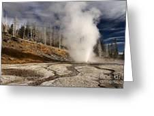 Steaming Streams Greeting Card