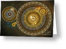 Steampunk Dream Greeting Card