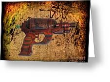 Steampunk - Gun - Ray Gun Greeting Card