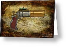 Steampunk - Gun - The Ladies Gun Greeting Card
