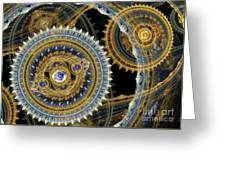 Steampunk Machine Greeting Card