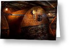 Steampunk - Plumbing - The Home Of A Stoker  Greeting Card