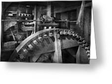 Steampunk - Runs Like Clockwork Greeting Card