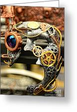 Steampunk - The Mask Greeting Card