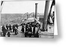 Steamship 1914 Greeting Card