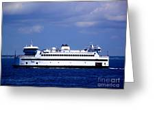 Steamship Authority Ferry Greeting Card
