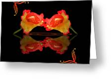 Steamy Hot Lips  Greeting Card