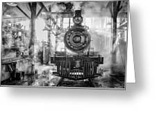Steamy Greeting Card