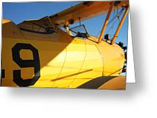 Stearman Boeing Model 75 Greeting Card