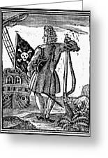 Stede Bonnet (c1688-1718) Greeting Card