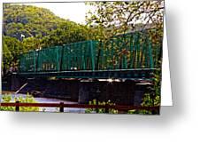 Steel Bridge Greeting Card