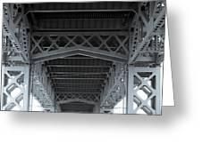 Steel Girder Bridge Greeting Card