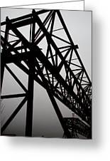 Steel Lift Greeting Card