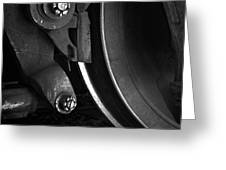 Steel Wheel I Greeting Card