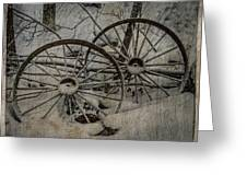 Steel Wheels Greeting Card